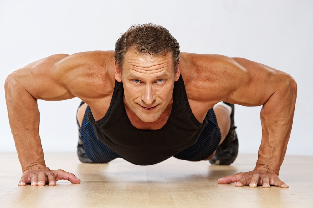 Exercises for men, strong and healthy back after 40